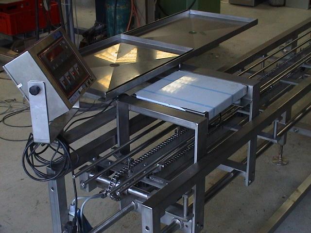 2001-0501 Transportbaan tray's simplex ketting 04