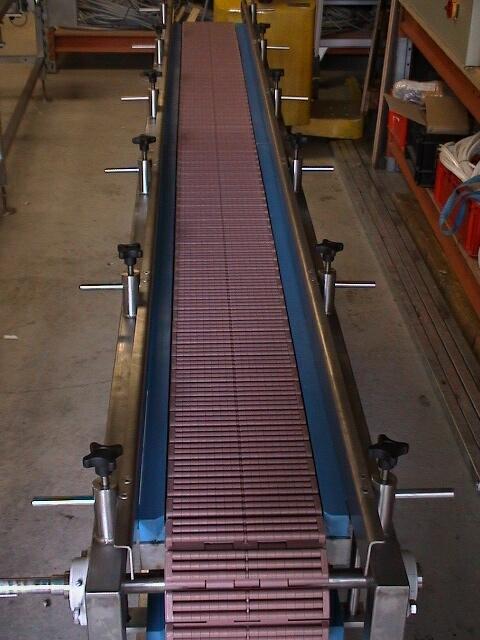 2001-0501 Transportbaan tray's simplex ketting 21