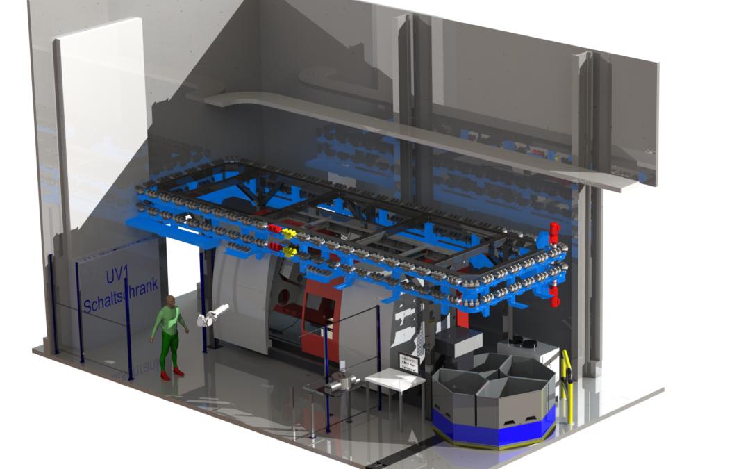 24/7 Onbemande machinefabriek.